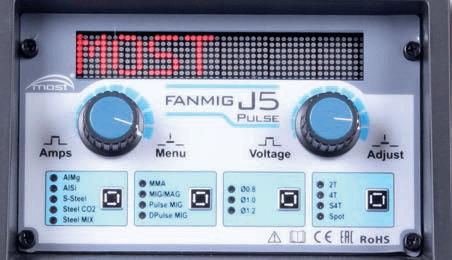 fanmig j5 импульсная панель