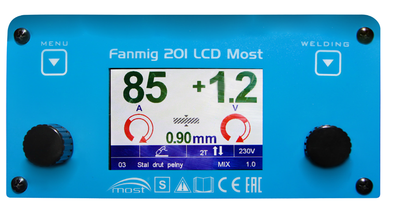 panel fanmig 201 lcd most